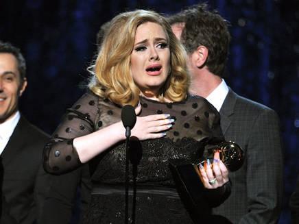 Grammy Awards 2012: Adele la grande gagnante