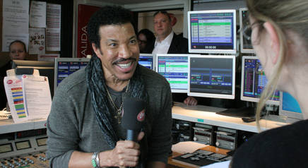 Lionel Richie sur Chrie FM